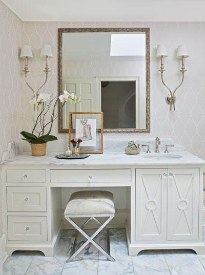 Residential Bathroom Countertop Photo Gallery Surface One - Bathroom countertop remodel