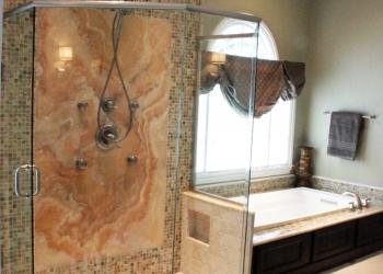 Onyx shower