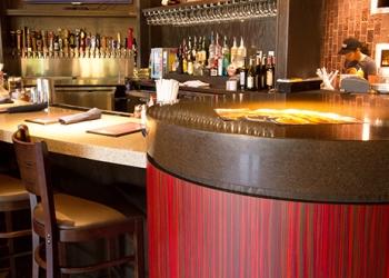 Brixx Radius Bar Top