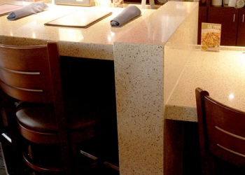 Quartz Mitered Edge