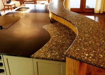 Vetrazzo Inlay in Granite