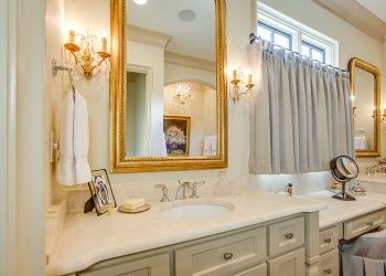 Crema Marfil Bathroom Countertop