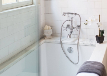 Montclair Danby Marble Bathtub Surround