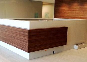 Mitered Edge Commercial Desk