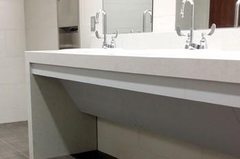 Mitered Lamination Bathroom Countertop