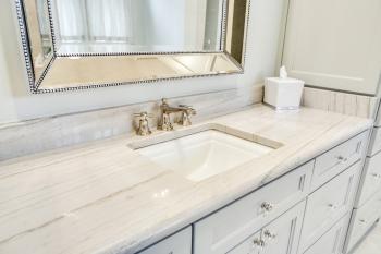 Macaubus Quartzite Bathroom Countertops