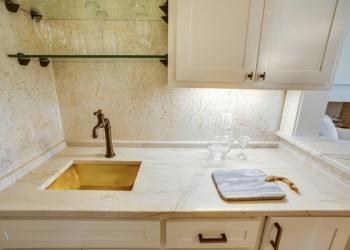 Aria Quartzite Wet Bar Countertops