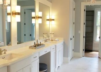 Silestone Master Bathroom