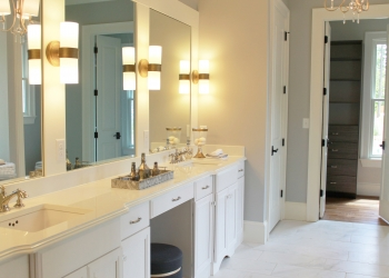 Silestone Master Bathroom