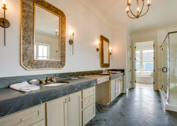 Indian Black Soapstone Bathroom Countertops
