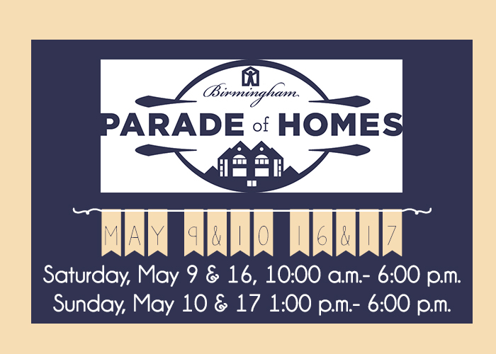 Last Weekend for the 2015 Parade of Homes