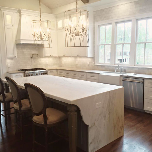 Waterfall Edge Countertops Surface One