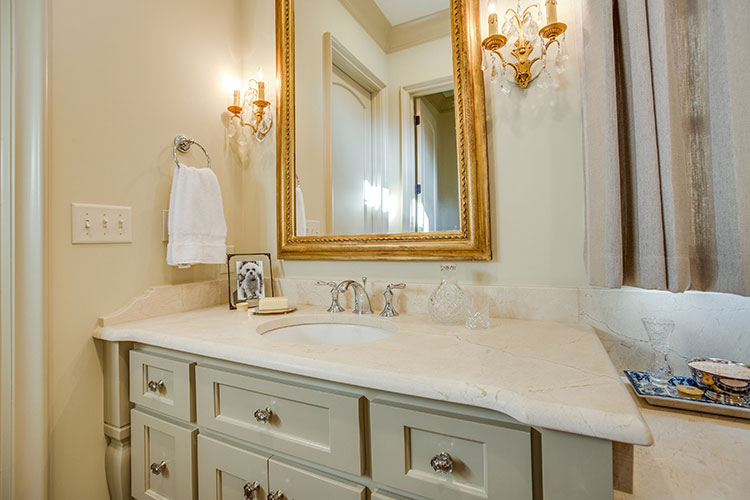 Montclair Danby Marble Bathroom Countertops
