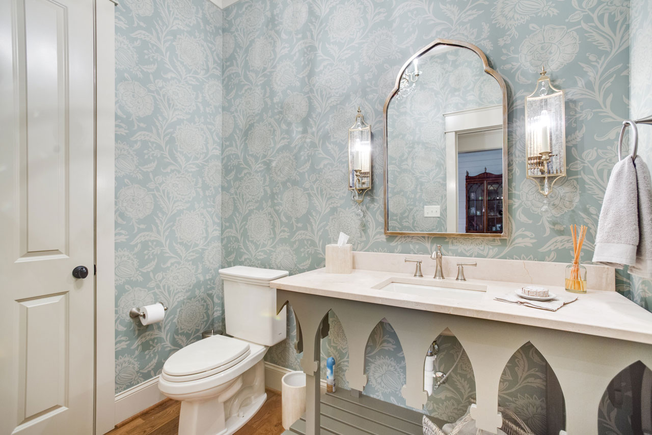 Marble Bathroom Countertop Crema Marfil Honed Surface One