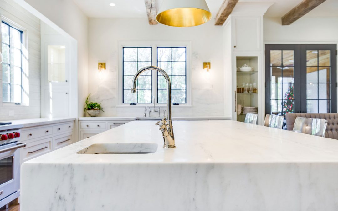 Waterfall Edge Countertops