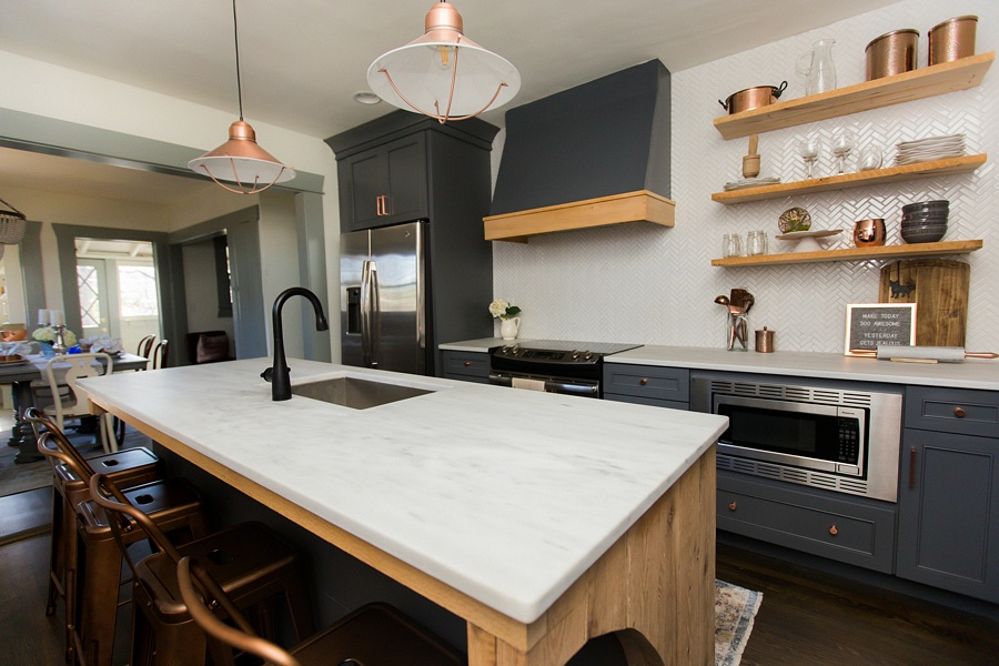 Montclair Danby Marble Kitchen Countertops